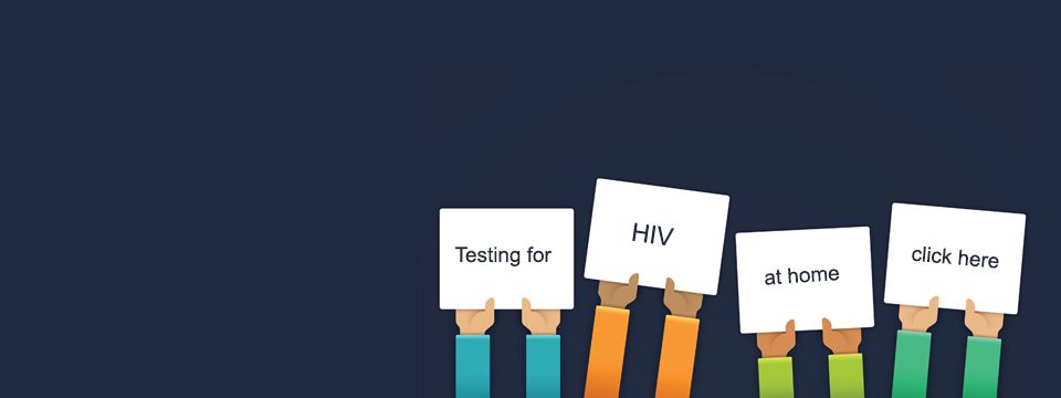 Testing for HIV at home.